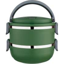 Marmita Lunch Box 1,4L - Euro Home Verde