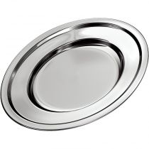 Travessa Oval Funda 27 cm - Euro Home Inox
