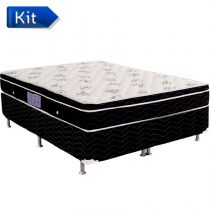Cama Box Queen Physical Spring - Ortobom