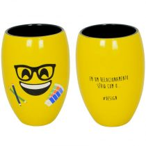Copo 400ml Diverticon Design - Mondoceram - Amarelo