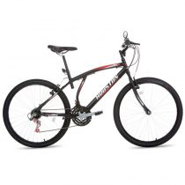 Bicicleta Aro 26 com 21 Marchas Atlantis Mad-Houston - Preto