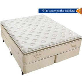 Box Soft Bambu Queen 158X198 - Americanflex Bege