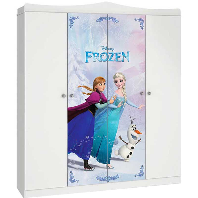 Guarda-Roupa Disney Frozen Star - Pura Magia