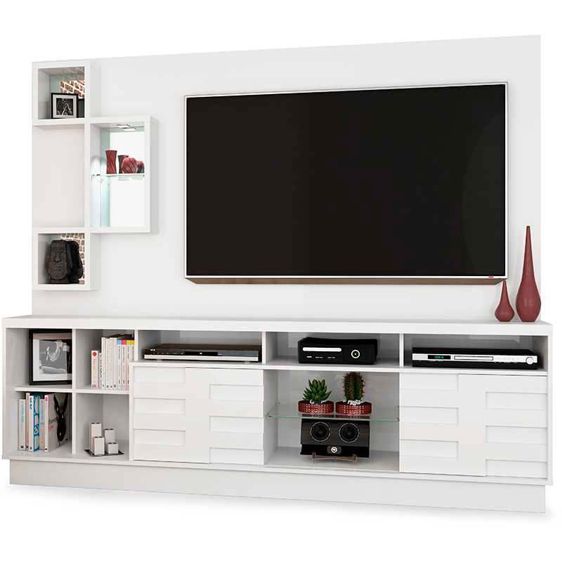 Home Theater Heitor - Madetec Branco