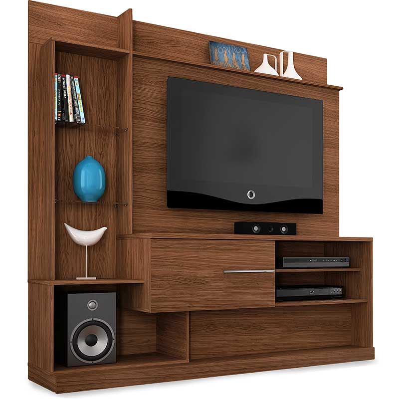 Home Theater Dimas - Madetec Castanho