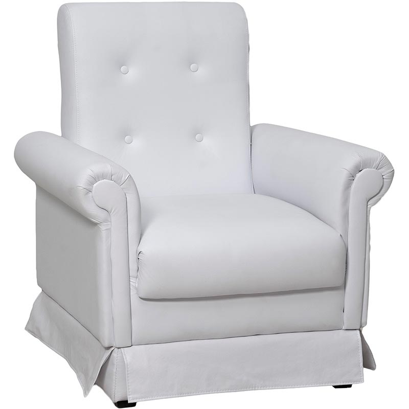 Poltrona Decorativa Mama - Matrix Branco