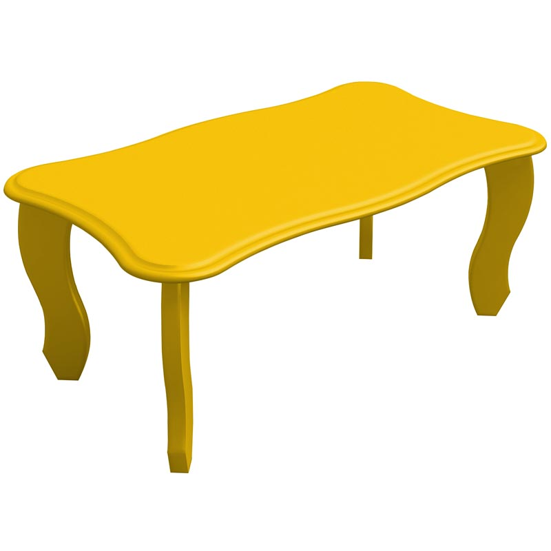 Mesa de Centro Happy - Artely Amarelo