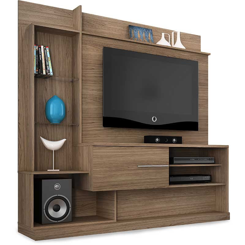 Home Theater Dimas - Madetec Amendoa