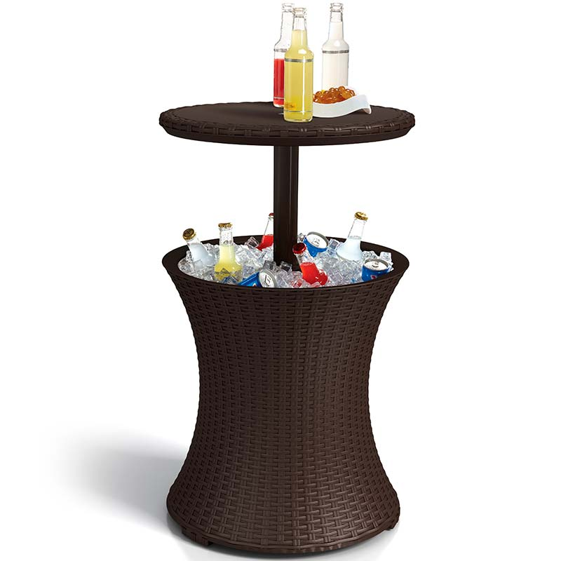 Cooler Cool Bar Rattan 710210 – Keter - Marrom